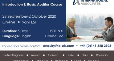 On-Line SAI-Approved SA8000 Auditor Course
